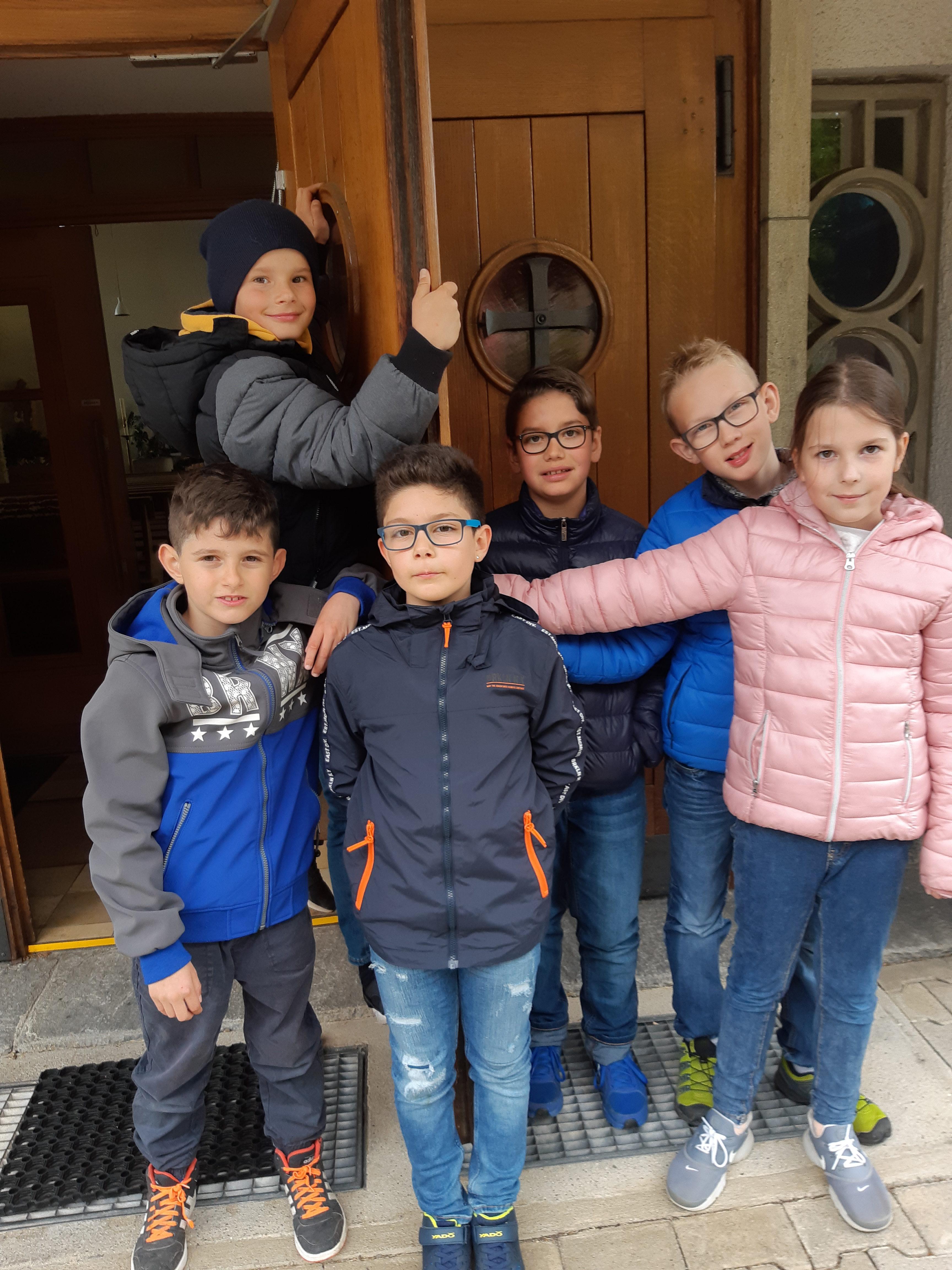 Mtter haben Freude am Deutschkurs, der dieses Jahr startete