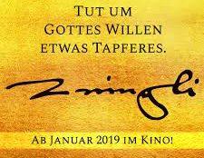Gemeinsam ins Kino - Vorpremiere von Zwingli