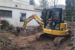 Umbau beim Pfarrhaus Neuenhof 22