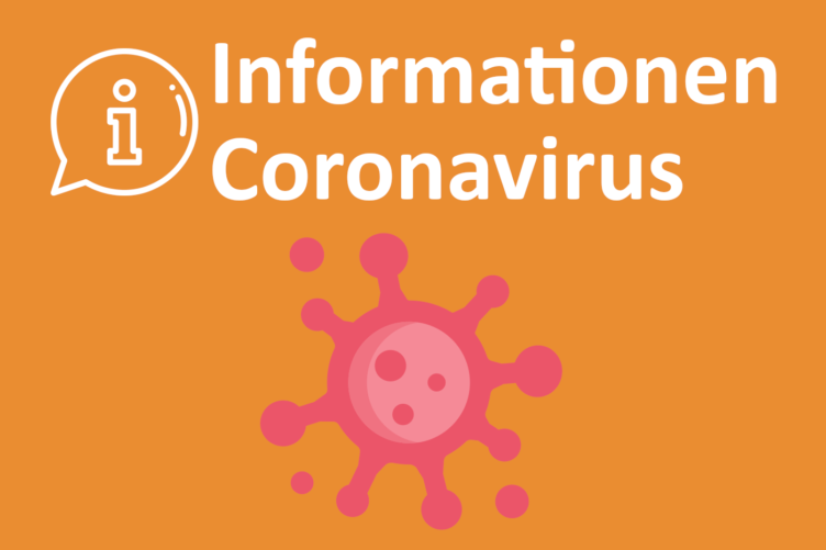 NEUE MASSNAHMEN CORONAVIRUS (Update: 29. Oktober 2020, 12 Uhr)