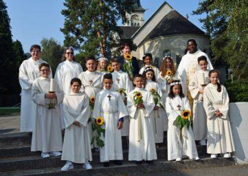Eucharistie / Erstkommunion 12