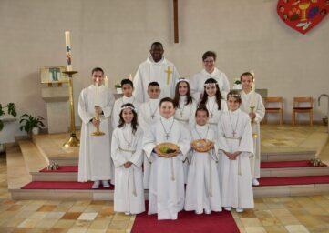 Eucharistie / Erstkommunion 14