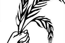 Palmzweige für Palmsonntag