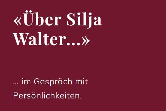 Gesprächsreihe «Über Silja Walter im Gespräch mit …»