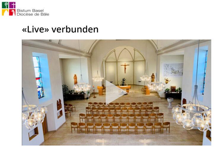 Mit dem Bistum «Live» verbunden: Chrisam-Messe