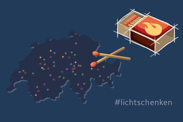Ökumenische Solidaritätsaktion: lichtschenken.ch