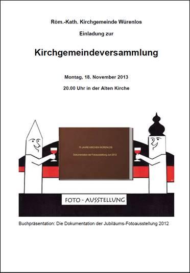 Kirchgemeindeversammlung 2013