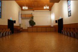 Saal Alte Kirche - Richtung Bühne