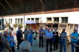 Gelungene Chorreise ins Kloster Fahr
